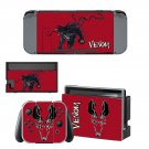 Venom decal skin sticker for Nintendo Switch console and controllers