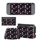 Chanel Rouge Coco decal skin sticker for Nintendo Switch console and controllers
