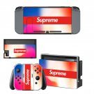 Supreme decal skin sticker for Nintendo Switch console and controllers