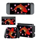Fish pattern decal skin sticker for Nintendo Switch console and controllers