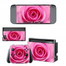 Rose decal skin sticker for Nintendo Switch console and controllers