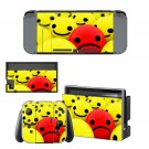 Emoji decal skin sticker for Nintendo Switch console and controllers
