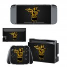 Mona lisa with bazooka decal skin sticker for Nintendo Switch console and controllers