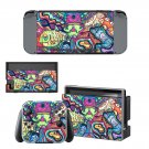 Hippie wallpaper decal skin sticker for Nintendo Switch console and controllers