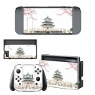 Chinese architecture decal skin sticker for Nintendo Switch console and controllers