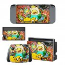 Adventure time wallpaper decal skin sticker for Nintendo Switch console and controllers