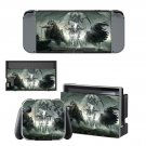 Mythical creature decal skin sticker for Nintendo Switch console and controllers