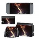 Space wallpapers decal skin sticker for Nintendo Switch console and controllers