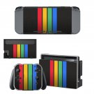 Colorful Columns decal skin sticker for Nintendo Switch console and controllers