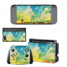 Painted Picture decal skin sticker for Nintendo Switch console and controllers