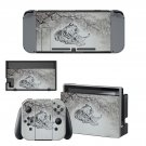 Tiger Clipart decal skin sticker for Nintendo Switch console and controllers