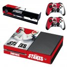 Fortnite high stakes decal skin sticker for Xbox One console and controllers