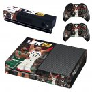 NBA 2K19 decal skin sticker for Xbox One console and controllers