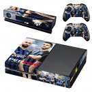 PES 2019 decal skin sticker for Xbox One console and controllers
