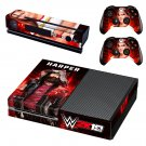 WWE 2K19 Harper decal skin sticker for Xbox One console and controllers