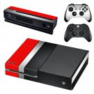 Metal floor decal skin sticker for Xbox One console and controllers