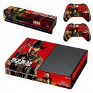Red Dead Redemption 3 decal skin sticker for Xbox One console and controllers
