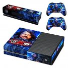 WWE 2K19 decal skin sticker for Xbox One console and controllers