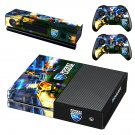 Rocket League decal skin sticker for Xbox One console and controllers