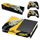 Solo A Star Wars Story decal skin sticker for Xbox One console and controllers