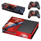 The amazing Spider Man decal skin sticker for Xbox One console and controllers