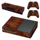 Snake Skin decal skin sticker for Xbox One console and controllers