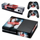 Supreme decal skin sticker for Xbox One console and controllers