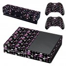 Chanel Rouge Coco decal skin sticker for Xbox One console and controllers