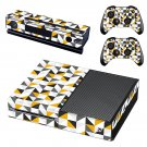Traingle wallpaper decal skin sticker for Xbox One console and controllers