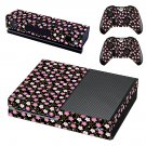 Floral Pattern decal skin sticker for Xbox One console and controllers