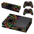 Floral wallpaper decal skin sticker for Xbox One console and controllers