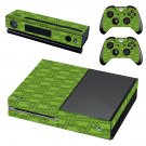 Traingle pattern decal skin sticker for Xbox One console and controllers