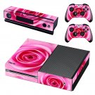 Rose decal skin sticker for Xbox One console and controllers
