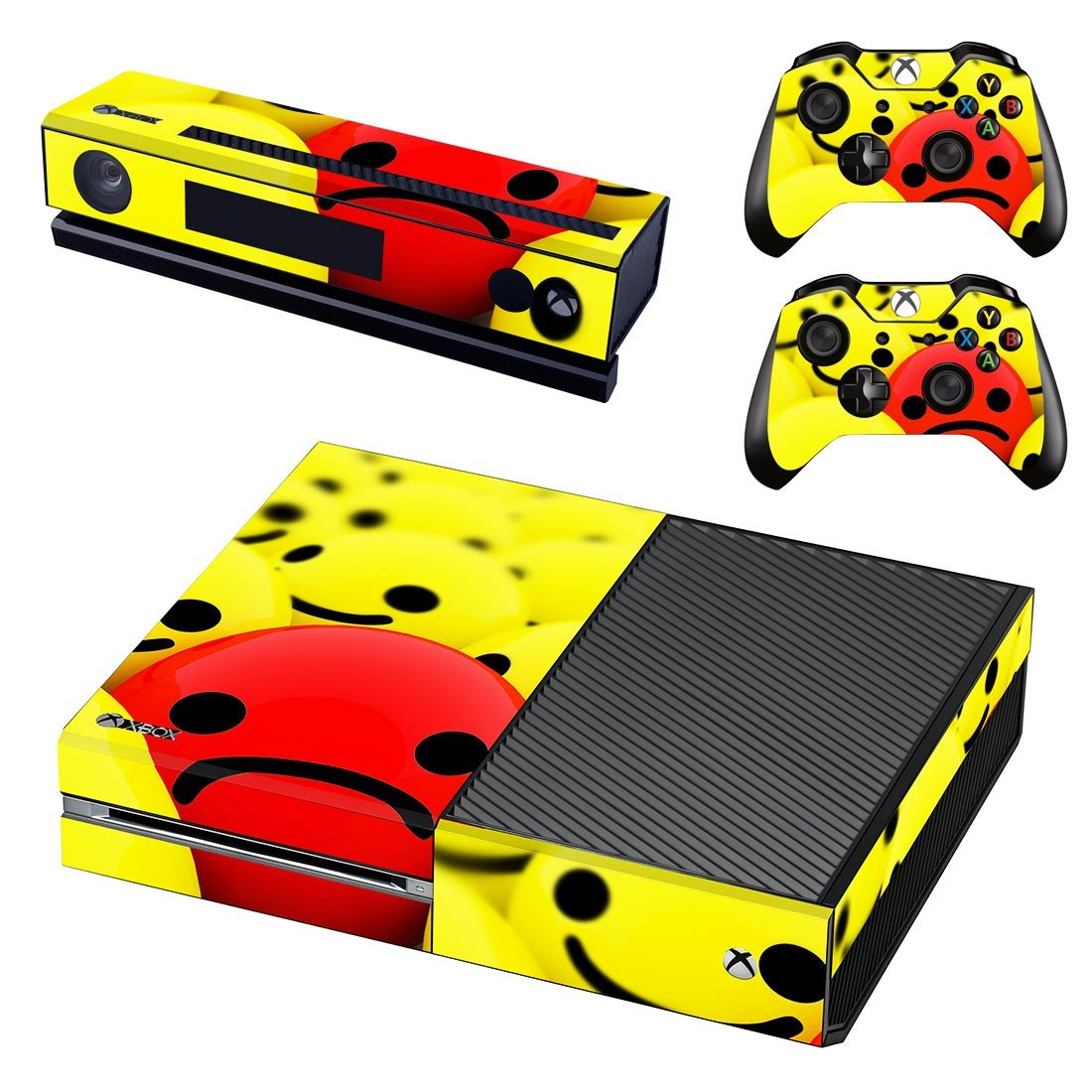 Emoji decal skin sticker for Xbox One console and controllers