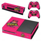 X game over decal skin sticker for Xbox One console and controllers