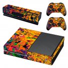 Tech wallpaper decal skin sticker for Xbox One console and controllers