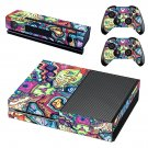 Hippie wallpaper decal skin sticker for Xbox One console and controllers