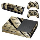 Music sheet decal skin sticker for Xbox One console and controllers