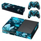 Butterflies decal skin sticker for Xbox One console and controllers
