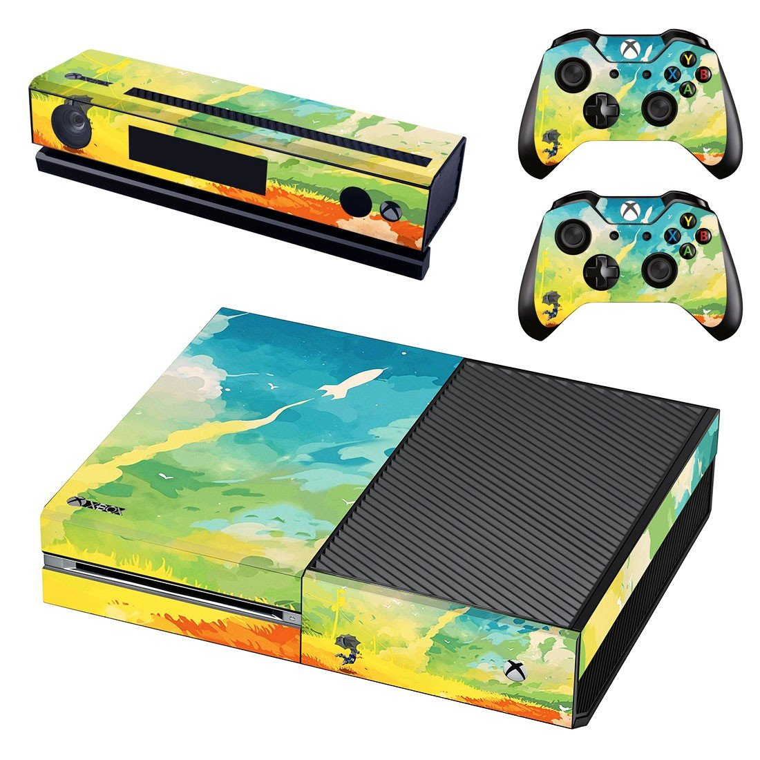 Painted Picture decal skin sticker for Xbox One console and controllers