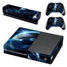 Space Planet decal skin sticker for Xbox One console and controllers