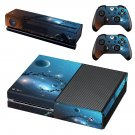 Space Planetdecal skin sticker for Xbox One console and controllers