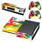 Painted Scene decal skin sticker for Xbox One console and controllers