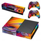 Spiral pattern decal skin sticker for Xbox One console and controllers