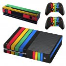 Colorful Wallpaper decal skin sticker for Xbox One console and controllers