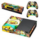 Adventure time wallpaper decal skin sticker for Xbox One console and controllers