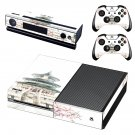 Chinese architecture decal skin sticker for Xbox One console and controllers