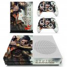 Sekiro shadows die twice decal skin sticker for Xbox One S console and controllers