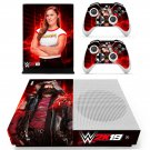 WWE 2K19 decal skin sticker for Xbox One S console and controllers