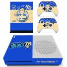 Fallout 76 decal skin sticker for Xbox One S console and controllers